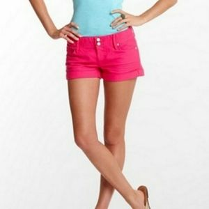 Lilly Pulitzer Pink Denim Kelli Shorts